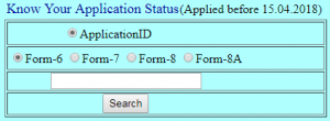 Ceo Andhra Voter Card Application Status