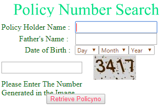tsgli policy number search
