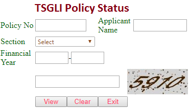 tsgli policy status at tsgli.telangana.gov.in