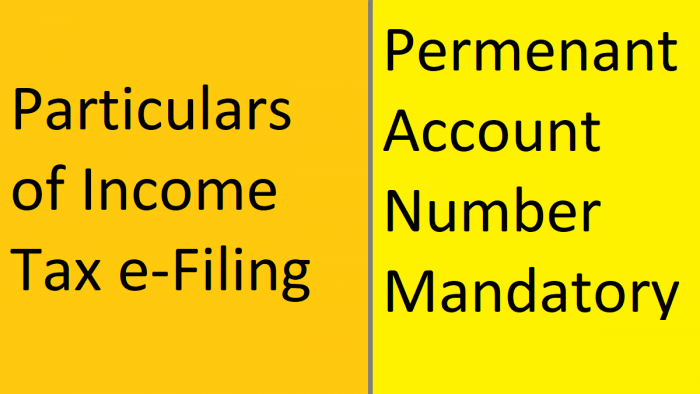 Income Tax Returns eFiling